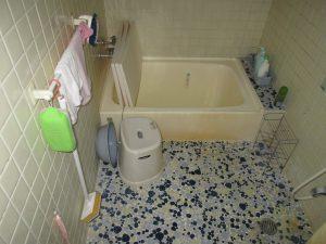 浴室B施工前